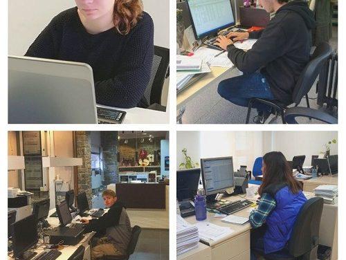 El Consell del Sobirà incorpora a 4 joves en pràctiques