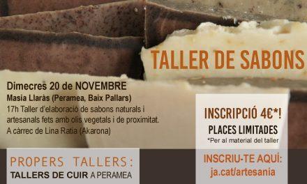 Cicle de Tallers d'Artesania tradicional: Taller de Sabons