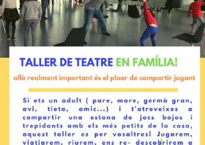 Taller Teatre en Família