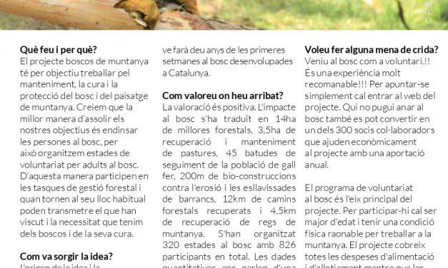 Projecte Boscos de Muntanya
