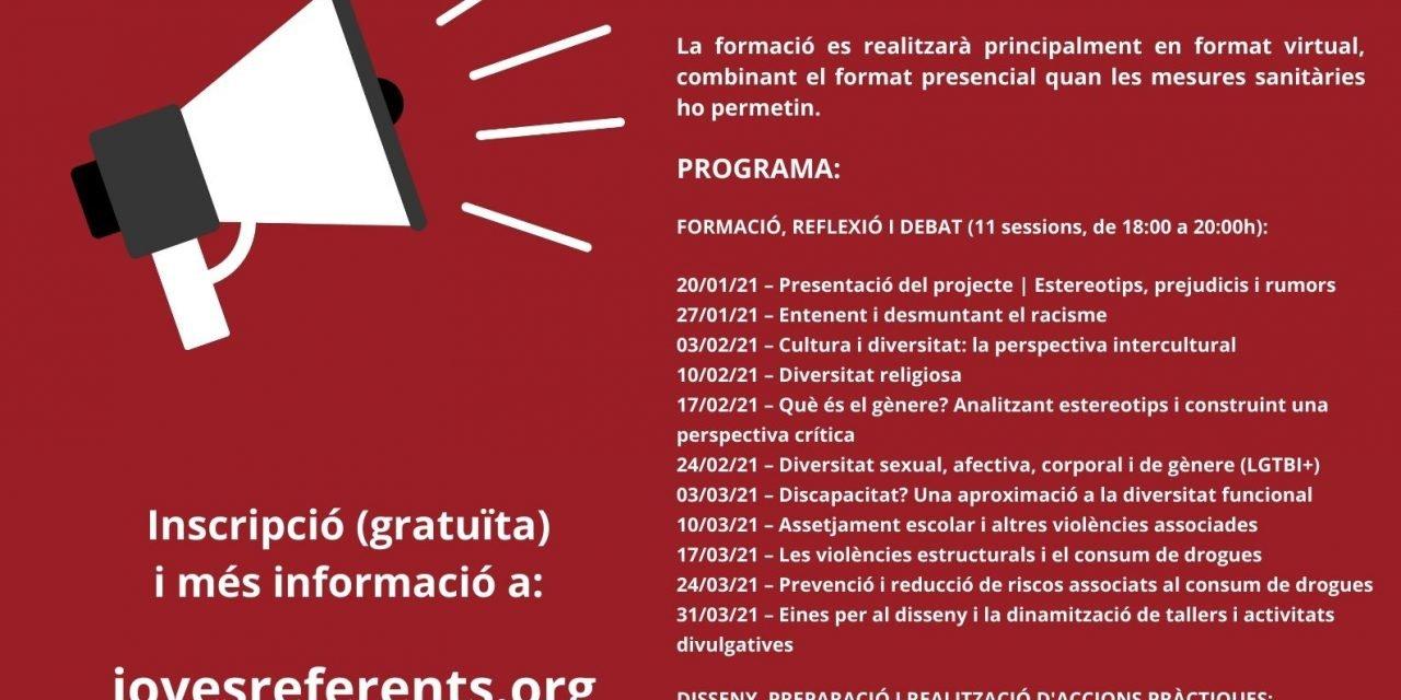 Formació online i gratuïta: Joves Referents