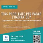 Tallers habitatge online i gratuïts