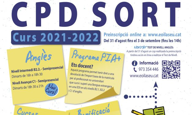 Anglès CPD Sort 2021-2022